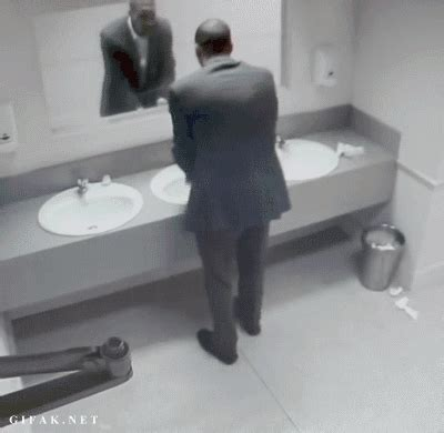 Bathroom Mirror Prank 10 Hilarious Doge Gifs That Ll Make You Lol Growld