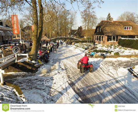 fotos holanda invierno invierno en holanda foto editorial