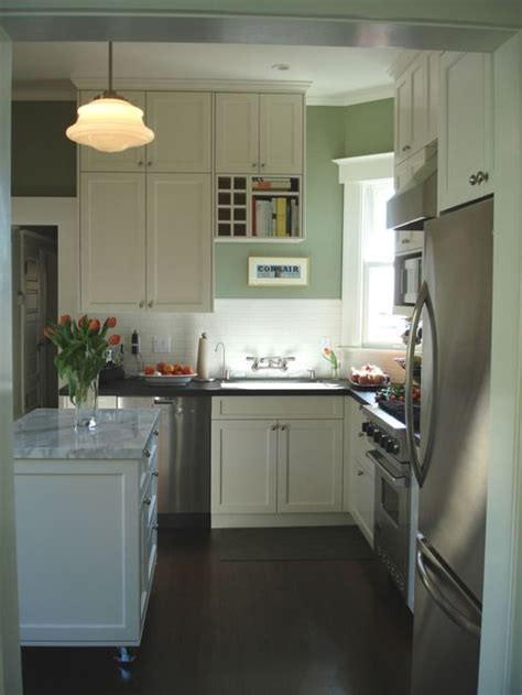 Houzz Kitchens White Cabinets Small White Kitchen Houzz