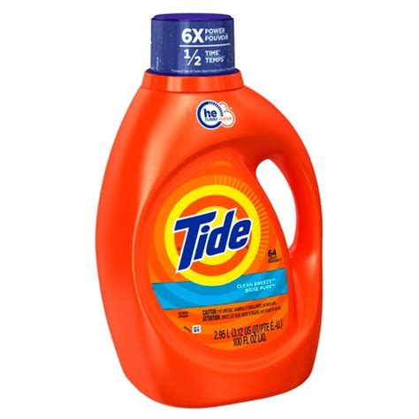 tide clean breeze high efficiency liquid laundry target