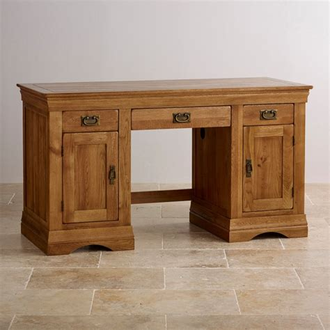 oak computer desk farmhouse computer desk solid oak oak furniture