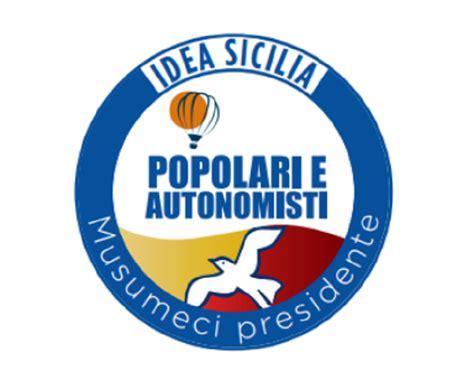 popolare e regionali sicilia popolari e autonomisti a sostegno di