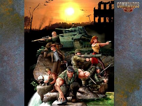 commandos 2 men of courage commandos 2 men of courage 2002 promotional art mobygames