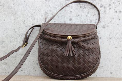Bottega Veneta Sturzzo Intercciato Handbag by Bottega Veneta Ebano Intrecciato Small Crossbody Bag