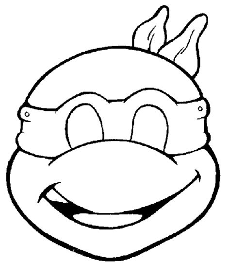 printable tmnt mask template m 225 scara infantil de carnaval de tortuga ninja donatello