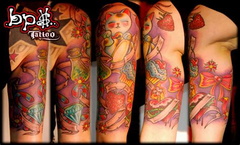 candy shop tattoo by bps on deviantart
