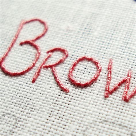 logo embroidery tutorial learn how to embroider your handwriting