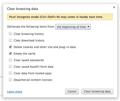 clear cookies how to clear browser cache and cookies the great escape