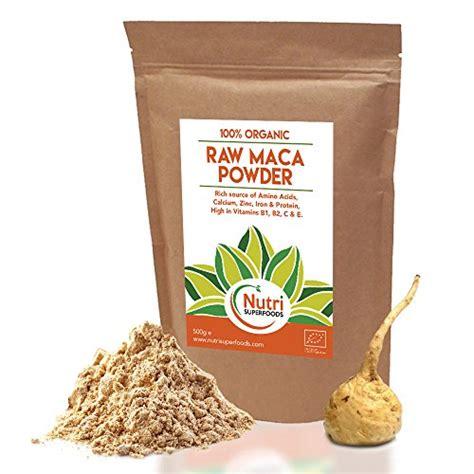 Maca Root Powder Raw Organic Premium Vegan Superfood