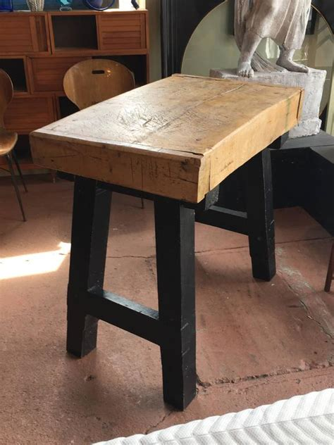 reclaimed old world solid wood kitchen island work counter butcher block table kitchen island for sale at 1stdibs