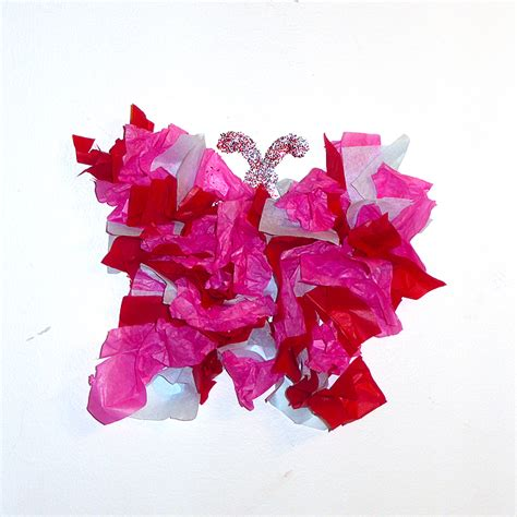 Craft From Tissue Paper - tissue paper crafts for kidsfun family crafts