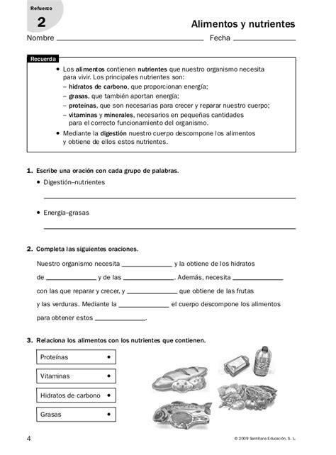 actividades de refuerzo conocimiento medio actividades de refuerzo conocimiento medio 6 186