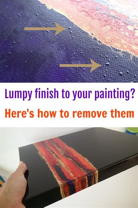 acrylic paint lumpy the 25 best abstract painting techniques ideas on
