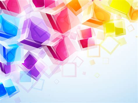 colorful powerpoint templates 3d business colorful square free ppt backgrounds for your