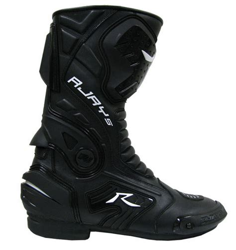 road bike boots rjays altitude ii motorcycle road bike protective boots black