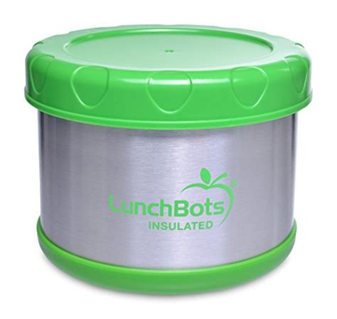Organic Stainless Food Container lunchbots stainless steel thermal insulated container
