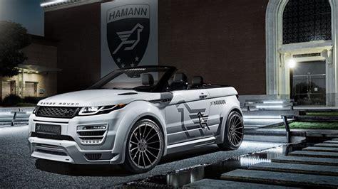 alman range rover ile tanisin evoque convertible hamann