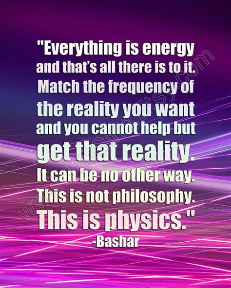 All There Is everything is energy and that s all there is to it match