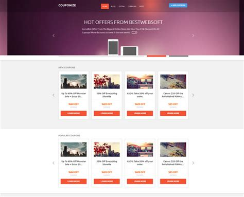 event listing website template 16 best local and global directory themes