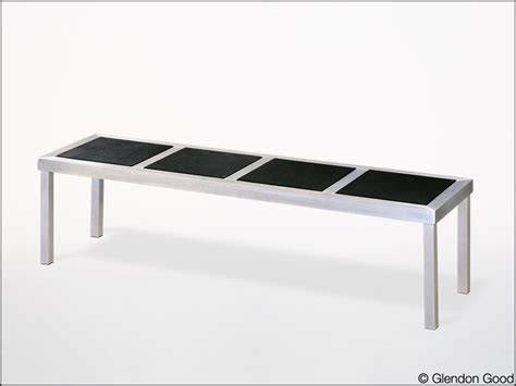aluminum bench seating seating glendon good