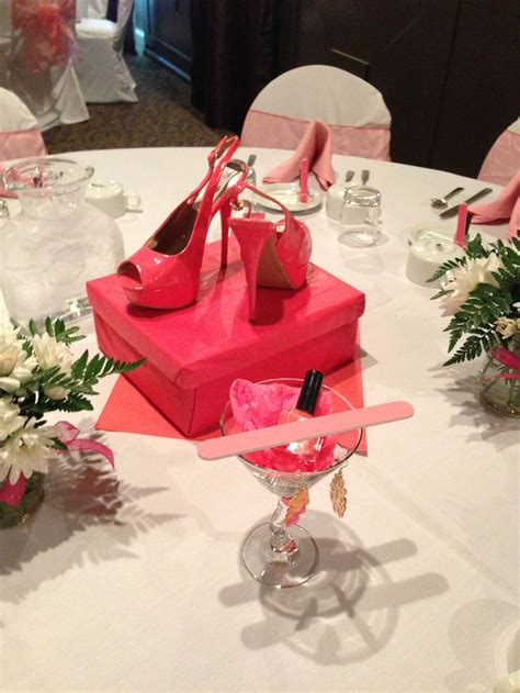 unique ideas for bridal shower centerpieces 45 best the slipper images on
