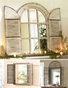 Ideas Design For Arched Window Mirror 25 Best Ideas About Window Mirror On Cottage Framed Mirrors Cottage Mirrors And