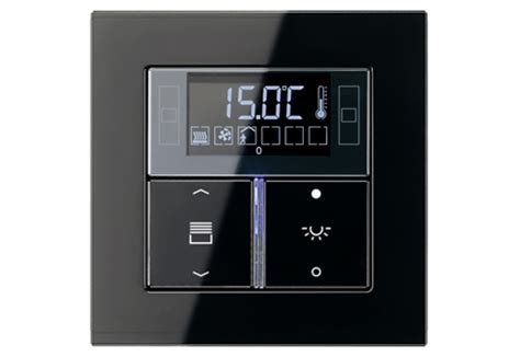 Beschriftung Jung F50 by Compact Room Controller By Jung Stylepark