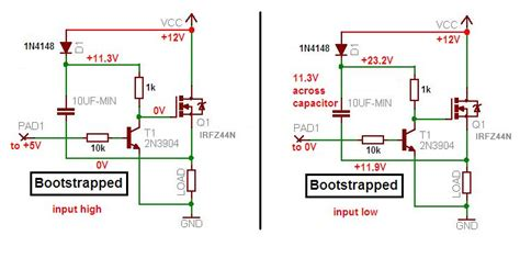 bootstrap capacitor gate charge driver bootstrap capacitor 28 images gate driving bootstrap circuit for high side mosfet