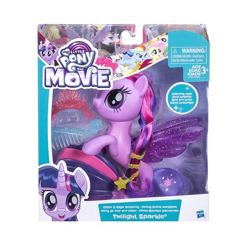 My Pony The 2017 Twilight Sparkle Glitter Style Seapony more new merch on seaponies and goh mlp merch