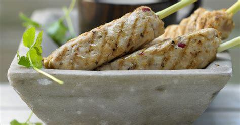 lemongrass chicken skewers recipe eat smarter usa