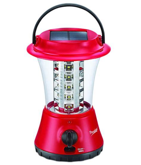 Prestige Red And White Solar Led Cluster Emergency Light