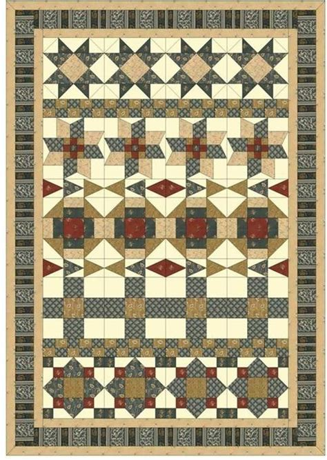 Civil War Quilt Pattern by Coming Home A Civil War Quilt Pattern