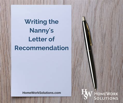Reference Letter Domestic Helper how to write a reference letter for domestic worker