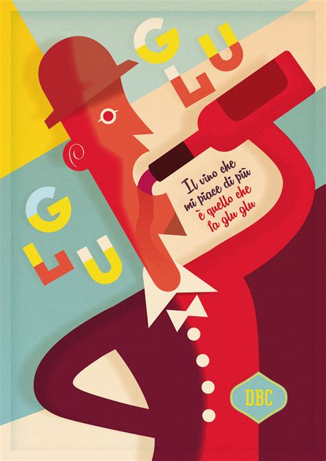 design poster cartoon vintage poster michele tenaglia design