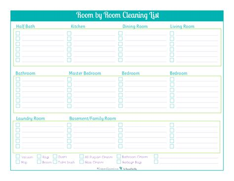 Things You Need For Your Bedroom Day 18 Room By Room Cleaning Checklists Scattered Squirrel