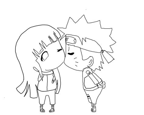 chibi minecraft coloring pages how to draw naruhina chibi