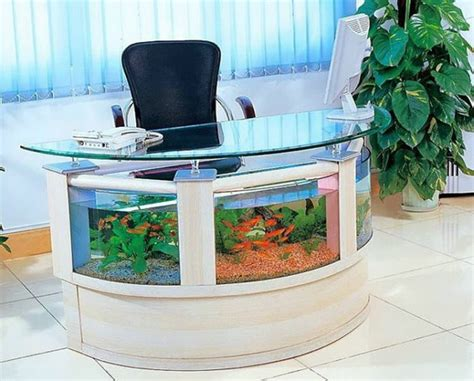 fish tank for desk at work 13 aquarium design ideas