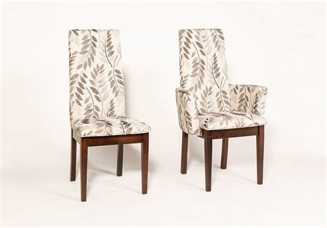 upholstered dining chairs with arms diningdecorcenter