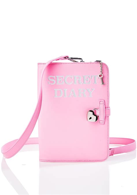 Dairy Pink pink diary purse dolls kill