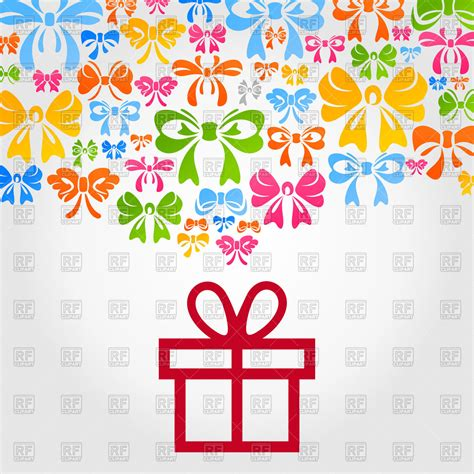 design background gift free download simple gift background vector clipart image 80911 rfclipart