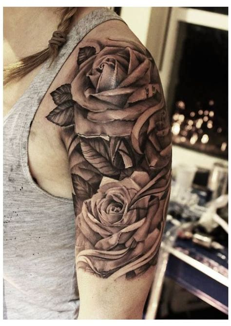 Pinterest Tattoo Upper Arm   pin upper arm roses tattoo tattoo picture on pinterest