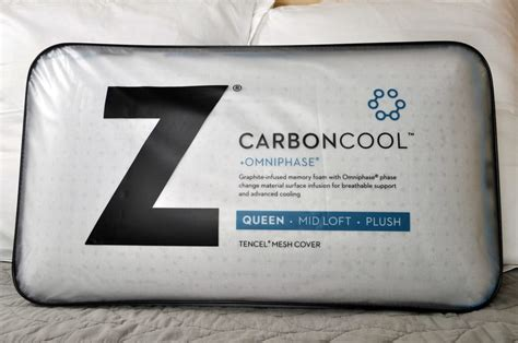 Cool Pillow Reviews by Malouf Carboncool Pillow Review Sleepopolis