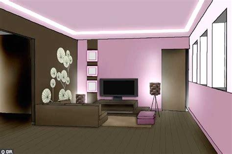 Decoration Interieur Peinture Salon by Decoration De Salon Peinture
