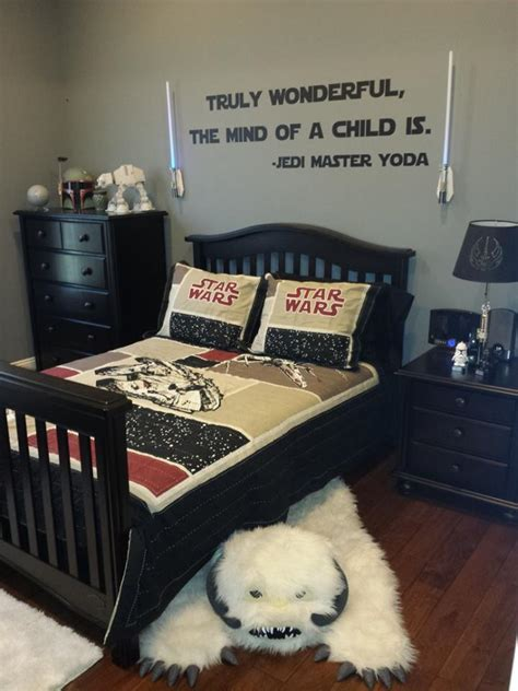 star wars themed bedroom another cool star wars bedroom built for some lucky kid