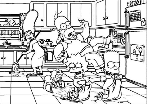 coloring pages of the simpsons christmas 139 best images about simpsons on pinterest