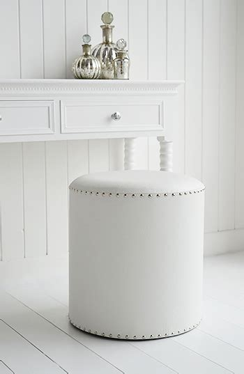Dressing Room Stools by White Dressing Table Stool From The White Lighthouse