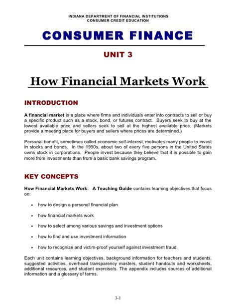 Office Of Consumer Credit Commissioner by Unit 3