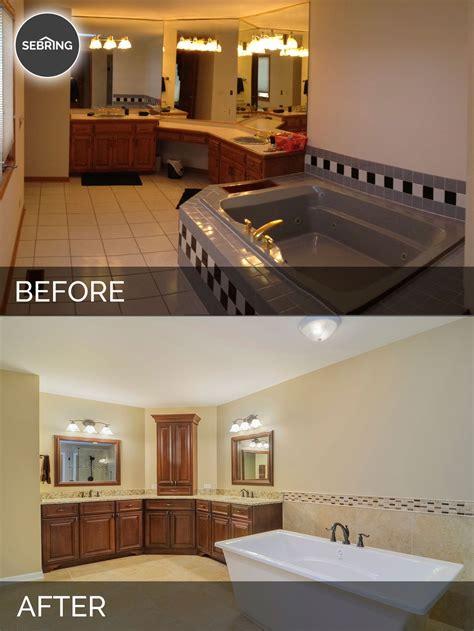 diy bathroom remodel permits bernard karan s master bath before after pictures home remodeling contractors sebring
