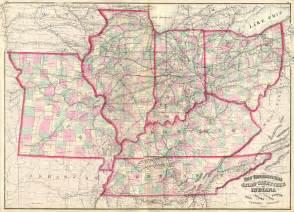 Indiana Ohio Map by Illinois Indiana Map