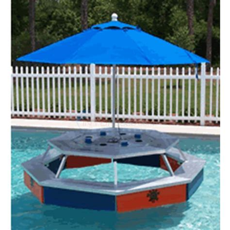 floating table for pool rev fab inc water pod floating picnic table waterpod